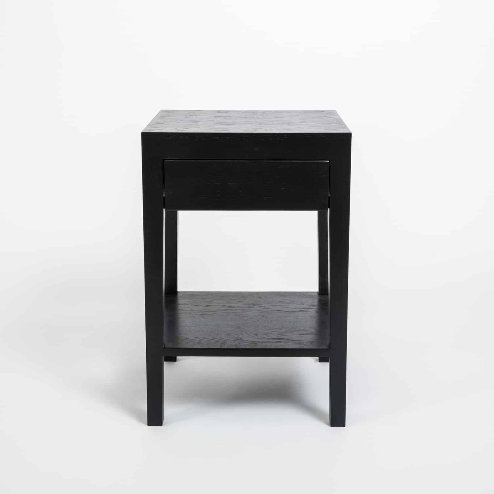 Cheriton Bedside | 1 Drawer | Black