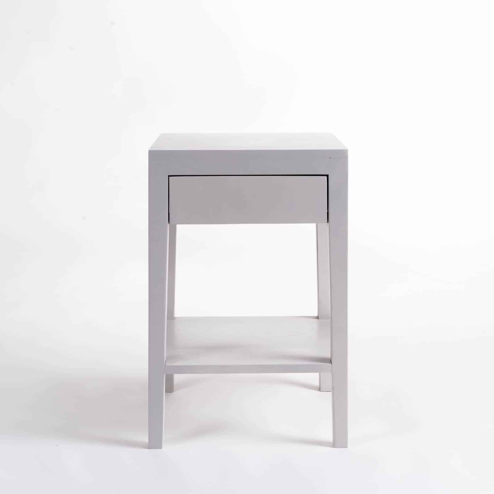 cheriton bedside 1 drawer grey di designs. Black Bedroom Furniture Sets. Home Design Ideas