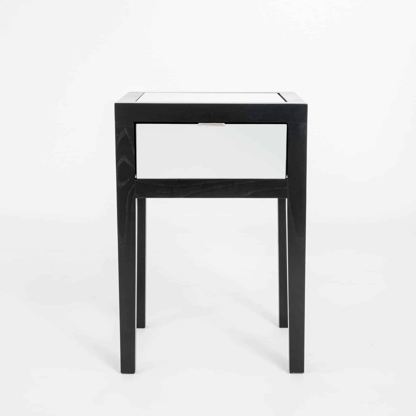 Josephine bedside 1 drawer black di designs for 1 drawer bedside table