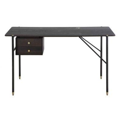 Broughton desk in seared oak