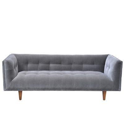 Stroud grey sofa