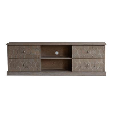 Four drawer TV/media unit